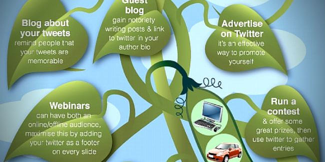 How To Get More Twitter Followers Infographic | Twiends